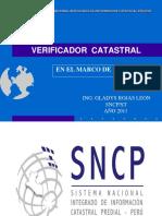 Verificador Catastral Tacna