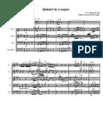 Quinteto em A maior de Mozart