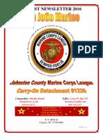The JoCo Marine - August 2016