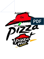 Hard Copy of Pizza Hut Presentation
