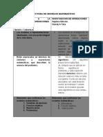 Estructura de Modelos Matematicos Trabajo