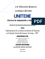 Proyecto UNITEK