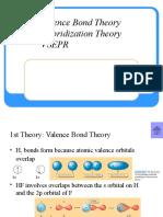 Teori Ikatan Valensi, Hibridisasi, Dan VSEPR