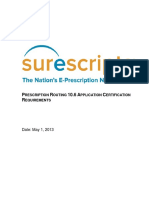 Prescription Routing 10.6 ACR 2013-05-01