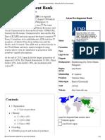 Asian Development Bank - Wikipedia, The Free Encyclopedia