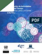 Actividades y Uso Del Tiempo en America Latina Genero Cepal
