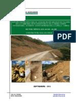 Informe Sector Crítico km 64+240-64+380