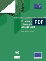 Cambio Climatico y Energia Cepal
