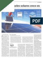 Uso de Paneles Solares Crece en Medellín