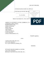 American University of the Caribbean v. Caritas Healthcare, Inc., 11th Cir. (2012)