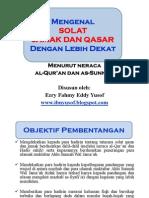 Selangkah Memahami Solat Qasar Dan Jamak Menurut Quran Dan Sunnah