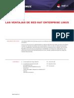 Las Ventajas de Red Hat Enterprise Linux 6