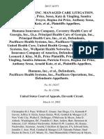 Price v. Humana Insurance, 285 F.3d 971, 11th Cir. (2002)