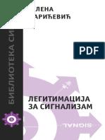 Jelena Marićević - LEGITIMACIJA ZA SIGNALIZAM
