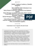 William Castleberry v. Goldome Credit Corp., 408 F.3d 773, 11th Cir. (2005)