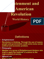 Enlightenment and the American Revolution