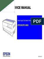 Service Manual Epson DFX9000
