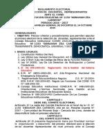 OFICIAL REGLAMENTO ELECTORAL CONEI I.E. N°1150 AZC 2015