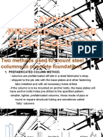 Layout Procedure for Steel Columns