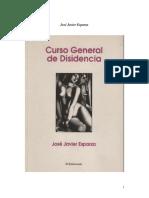 Curso General de Disidencia - Jose Javier Esparza