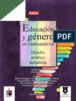 Siderac Silvia Comp Educación y Género en Latinoamérica.compressed