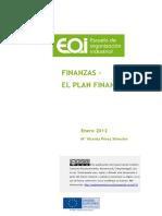 El Plan Financiero