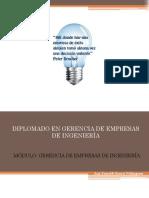 Planificación y Organización de Empresas de Ingeniería