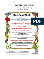 Bowthorpe News July 2016