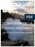 Wwf Ecofys 2011 Theenergyreport Spanish