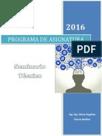 Programa de Asignatura - Seminario Técnico