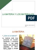 Materia y Materiales