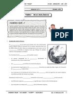 1ero. - GEO - Guía Nº 4 - La Tierra - Eras Geológicas