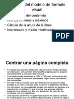 CSS-Detallesdelmodelo de Formato Visual
