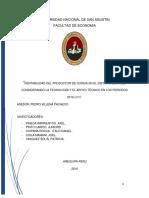 Rentabilidad Del Productor de Quinua en La Region Majes en Los Periodos 2010 2015 (1)