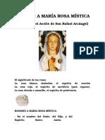 Rosario a María Rosa Mística