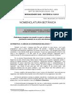 Texto Nomenclatura Botanica