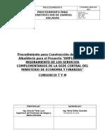 25 Procedimiento de Costruccion de Muros de Albañileria