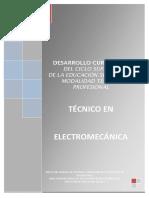 Técnico en Electromecanica 3828-09