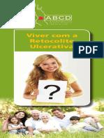 Folheto Viver Com Retocolite Ulcerativa
