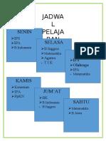 JADWAL MAPEL