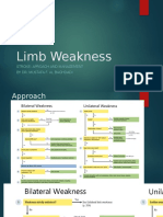 Limbweaknesses
