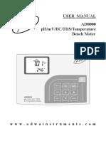 Manual Ad8000