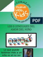 2los 5 Lenguajes Del Amor Del Niño