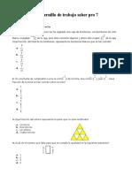MATEMATICA 7 cuadernillo saber pro