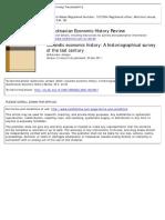 Icelandic Economic History a Historiogra