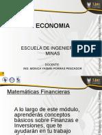 2. ECONOMIA y Matematica Financiera
