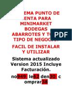 Sistemas de Ventas Actualizado Mercado Libre