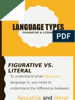 Presentargtion Figurative vs Literal Language