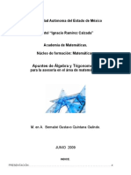 Apuntes de Algebra y Trigonometria 2008-2009a