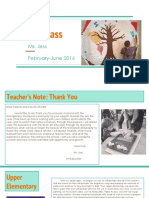 art end of the year newsletter
